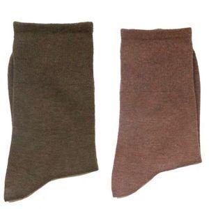 Low Cut Crew Socks (2 Pairs)